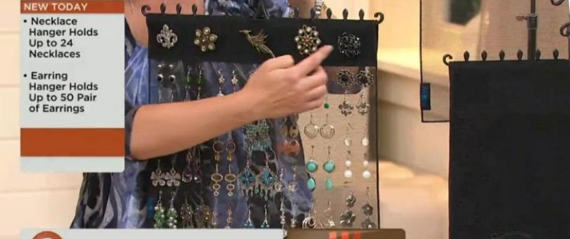 QVC customer review…. What a wonderful solution for my jewelry!